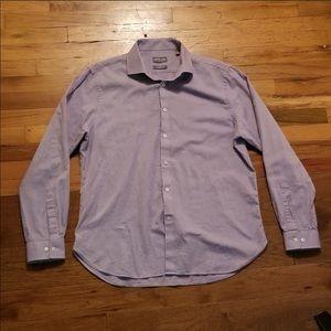 Purple Michael Kors Dress Shirt